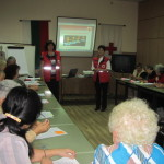 Възрастни червенокръстци се учиха да помагат на свои набори по време на бедствия