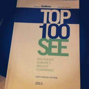 Списанието Top 100 SEE