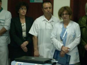 Д-р Албена Ангелова - офталмолог  - представяне на камерата за ретинална диагностика