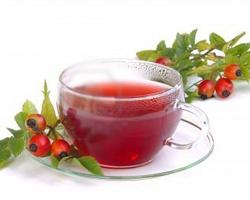 Чаят от шипки също е много полезен.