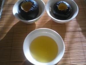 Черната ряпа е готова за пълнене с мед