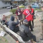 Кризисна трапезария на БЧК храни 40 бездомници