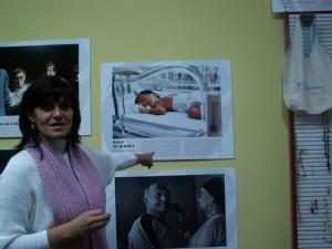 """Наградата на журито е присъдена на фотографията """"Воля за живот"""" посветена на недоносените деца"""