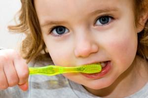 Миенето на зъбките може да е игра