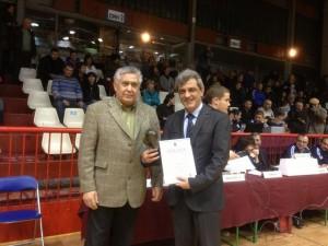 Поредното отличие, което Свилен Иванов получава за подкрепа на русенския спорт