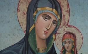 Света Анна с дъщеря си Мария