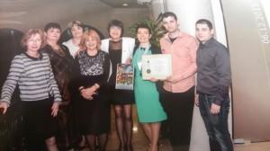Д-р Дачева получи наградата в присъствието на свои колеги от Русе