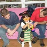Малката Серенита намери новото си семейство в страната на Уолт Дисни
