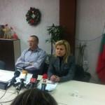 Светлана Ангелова изтегли парата от коледната погача