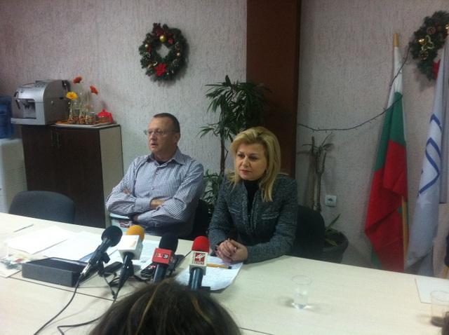 Photo of Светлана Ангелова изтегли парата от коледната погача
