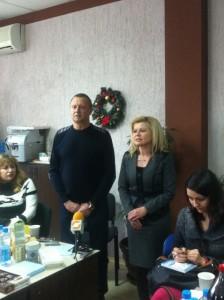 областното ръководство осигурява и 23 подаръка за новородени и деца в нужда в община Ценово