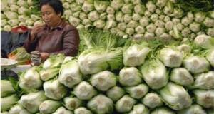 Китайското зеле е подходящо за отслабване
