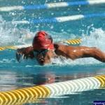Михаел Йорданов плува като красив и мощен делфин