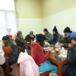 БЧК нахрани бездомните в навечерието на 2014-а