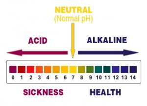 Водата съдържа както алкални, така и киселинни стойности.