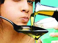 Жабурене с олио е лесна   процедура за домашни условия