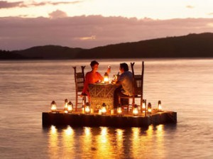 Вечерята може да е на нетрадиционно място...