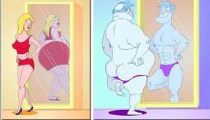 Йън Уотсън разказа каква е разликата между мъжете и жените, когато се погледнат в огледалото