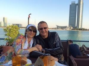 Щом са заедно, където и да се намират, Пламен и Таня Нуневи са щастливи