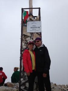 ... а гледката от връх Вихрен е спираща дъха