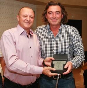 През 2012-а година Пламен Нунев награди олимпийският ни шампион Христо Марков