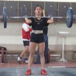 Русенка е шеста на Европейското по вдигане на тежести за кадети