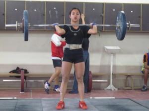 Русенката завърши шеста в категория до 44 килограма, на стартиралото вчера Европейско първенство по вдигане на тежести