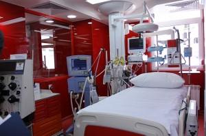 Болниците по света също използват цветовете, за да вдъхнат сигурност, вяра, покой на своите пациенти.