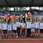 """Малчугани от детски градини  се надбягваха на турнир """"Младост"""""""