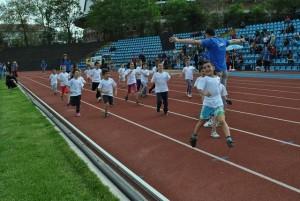 Малчугани от детските градини,  участваха в демонстрационни състезания.