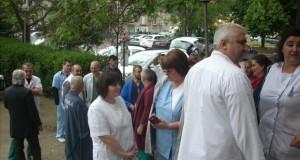 Русенските лекари протестираха срещу политиката на Здравната каса