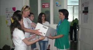 Специална лампа дариха на Педиатрията в Русе