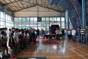Повече от 80 деца и кадети от 9 клуба от цялата страна участваха в турнира по вдигане на тежести.