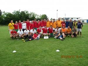 """Отборът на """"Медика"""" на турнир по мини-футбол."""