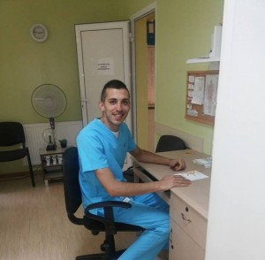 Симеон Костов на работното си място
