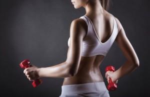 Няколко техники за изваяни мускули.