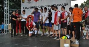 """Медика Експерт"" победи в работническа Спартакиада Русе 2014"