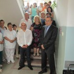 Откриха барелеф на д-р Граматиков в белодробната болница