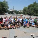 Напук на русенската жега 45 колоездачи показаха какво могат