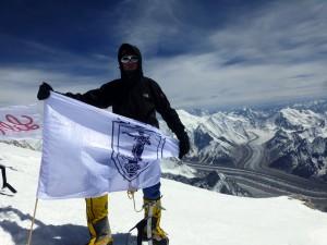 Алпинистът Иван Томов развя знамето на Русе на връх Броуд Пик