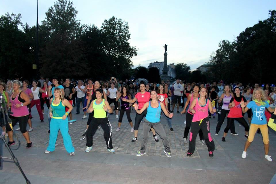 На 12 септември, на площада пред Общината, ще се проведе ZUMBA (R) Fitness MEGA MARATON