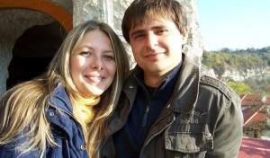 Собствениците на биомагазина  Ралица и Мариян