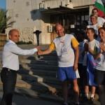 Факелът на мира за пръв път мина през Русе