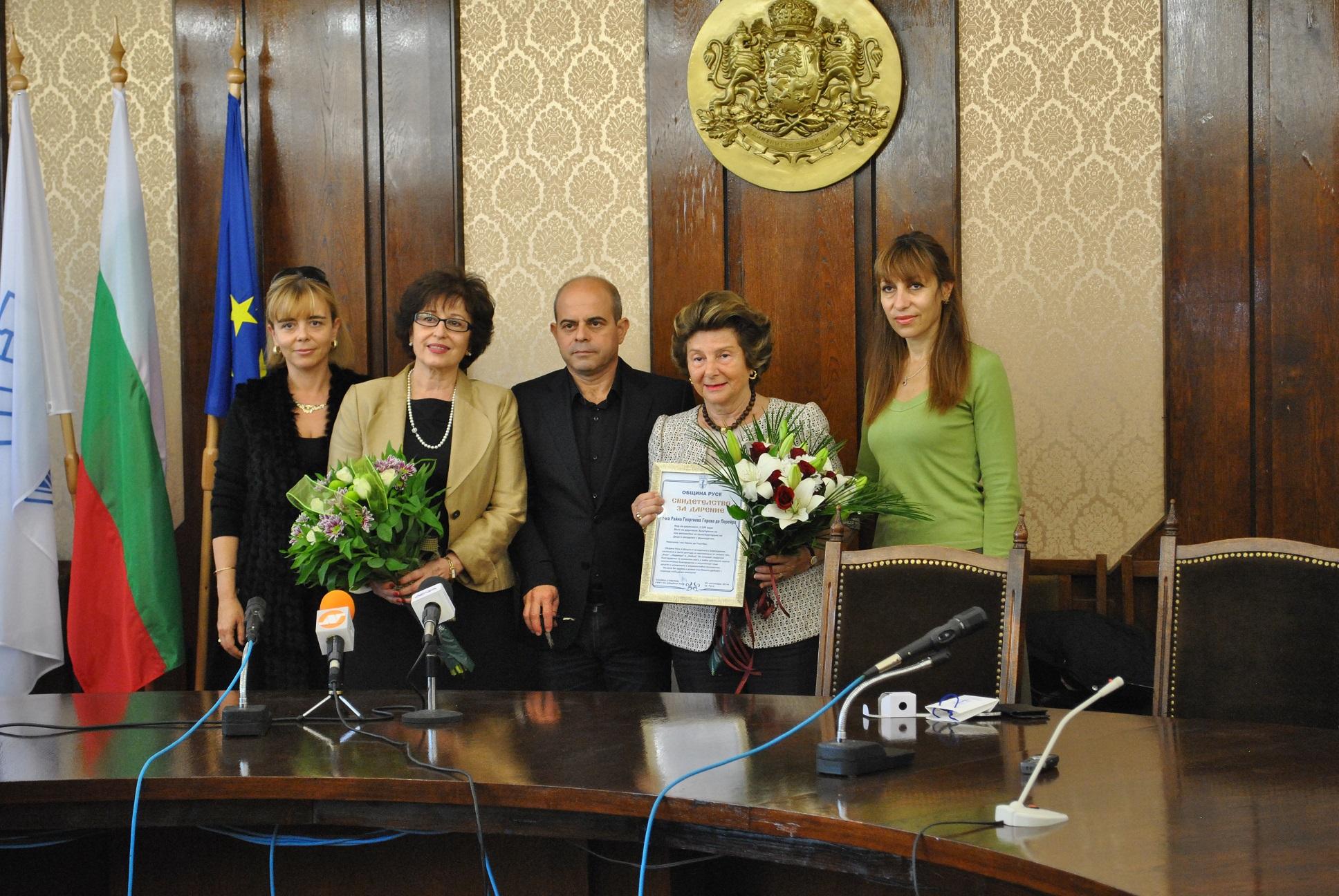 Photo of Райна Геров де Перейра стана благодетел на русенски деца