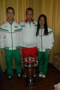 Русенски тежкоатлети със сребро от Европейско отборно първенство