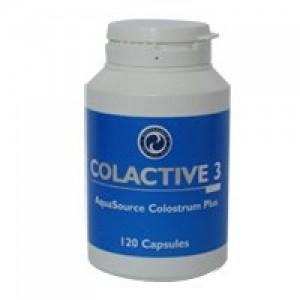 """Продуктът """"Колактив 3"""", в който коластрата е обогатена с лактоферин и ацидофилус, два вида полезни вещества, които пряко отговарят за подобряване на имунитета."""