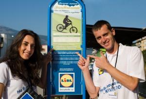 """Над 1000 колоездачи са се възползвали от """"ВелоВитоша"""" на Лидл."""