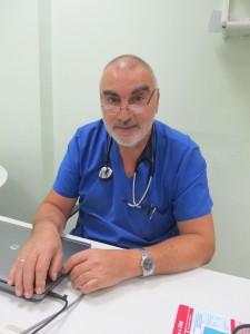 Началникът на отделението по кардиология в МБАЛ Медика – Русе д-р Цоню Стефанов