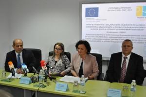 На първата копка присъства министър Василева