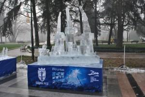 Ледената скулптура на Виктор Царски